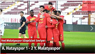 A. Hatayspor 1 - 2 Y. Malatyaspor