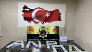 Ağrı'da 21 kilogram eroin ele geçirildi