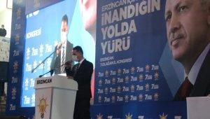 AK Parti Erzincan İl Başkanı Şireci, güven tazeledi