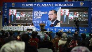 """AK Parti Genel Başkan Yardımcısı Şahin: """"Bu yılın ortasında bütün konutları Elazığlı hak sahipleri kardeşlerimize teslim edeceğiz"""""""