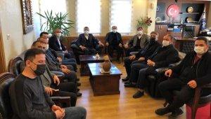 AK Parti Nevşehir Milletvekili Açıkgöz, Acıgöl'de ziyaretlerde bulundu
