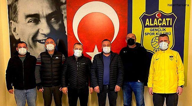 Alaçatıspor, yeni teknik direktör ile anlaştı