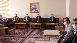 Ali İhsan Kabakcı birim müdürleri ile toplantı yaptı