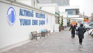 Altındağ Belediyesi'nden esnafa destek