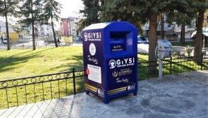 Altınordu'da giyilmeyen kıyafetler için 'Giysi Kutusu'