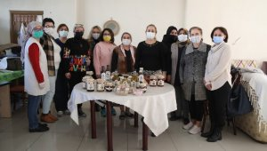 Atçalı kadınlar Aydın Büyükşehir Belediyesi'nin de verdiği destekle kadınlara örnek oluyor