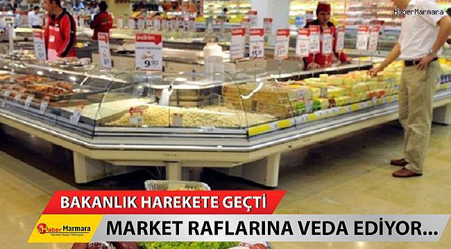 Bakanlık harekete geçti! Market Raflarına Veda Ediyor...