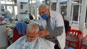 Berberlikte 60 yılı geride bıraktı, tıraşa devam ediyor