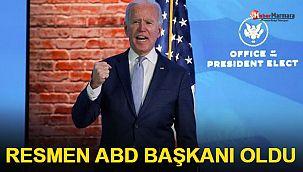 Biden resmen ABD Başkanı oldu