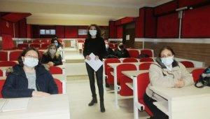 Burhaniye'de hijyen kursları ağırlık kazandı