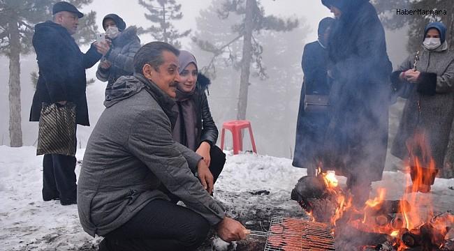 Bursalılar Uludağ'ı pas geçti, Ulus Dağı'na geldi