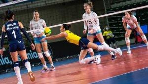 CEV Şampiyonlar Ligi: Fenerbahçe Opet: 3 - Calcit Volley Kamnik: 0