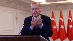 """Cumhurbaşkanı Erdoğan: """"Doğalgaza yatırım 27 milyar lirayı buldu"""""""