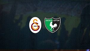 Galatasaray - Denizlispor! 11'ler belli oldu