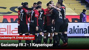 Gaziantep FK 2 - 1 Kayserispor