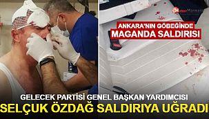 Gelecek Partisi Genel Başkan Yardımcısı Selçuk Özdağ saldırıya uğradı