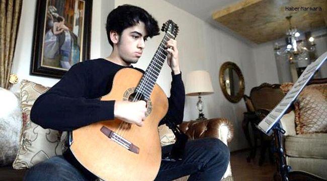 Genç yetenek Barkan Canbolat, dünyanın en iyi 4'üncü gitaristi oldu