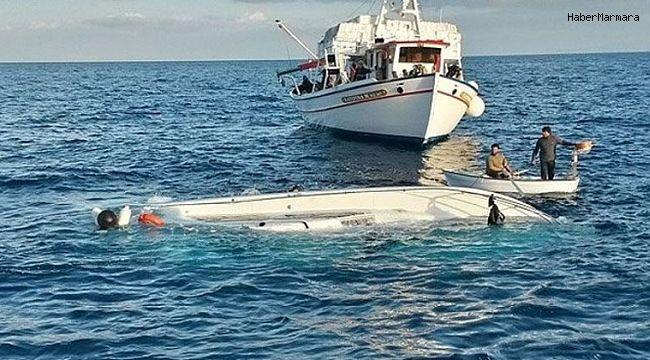 Göçmen teknesi alabora oldu: Çok sayıda ölü!