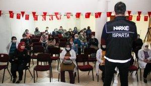 Isparta'da 3 bin 579 kişiye narkotik eğitimi verildi