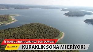 İstanbul barajlarında son durum! Kuraklık sona mı eriyor?