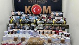 Kaçakçılara yönelik 3 ayrı operasyon: 3 gözaltı