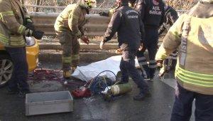 Kartal'da feci kaza: 1 ölü, 1 yaralı