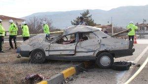 Kastamonu'da meydana gelen 562 trafik kazasında 2 kişi hayatını kaybetti
