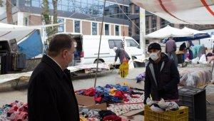 Kaymakam Türköz, Pazar esnafını ziyaret etti