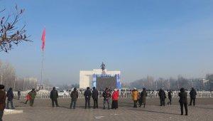 Kırgızistan'da Cumhurbaşkanlığı seçimini kazanan Caparov yemin etti