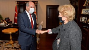 KKTC Cumhurbaşkanı Tatar, BM Genel Sekreteri'nin geçici Kıbrıs Özel Danışmanı Lute'u kabul etti
