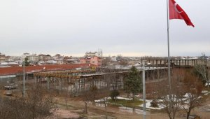 Mahalle konağı ve çok amaçlı sosyal tesisin çalışmaları aralıksız sürüyor