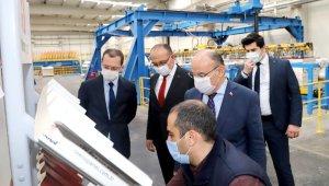 Manisa Valisi Karadeniz, Teknopanel tesisini gezdi
