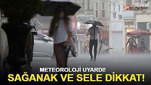 Meteoroloji'den son dakika uyarısı! Sağanak ve fırtına...