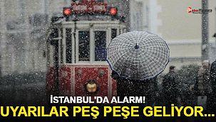 """Meteoroloji ve AKOM uyardı! """"İstanbul'a kar ne zaman yağacak?"""""""
