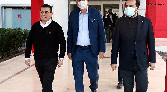 Mustafa Yılmaz'ın Antalyaspor A.Ş. Genel Kurulu öncesi yoğun görüşme trafiği