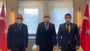 OSB Başkanı Şimşek Bakan Karaismailoğlu ile görüştü