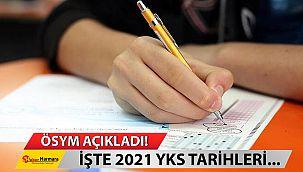 ÖSYM Açıkladı! İşte 2021 sınav takvimi