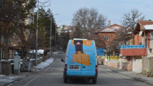 Patili Dostlar Ambulansı Bünyan'da yollarda