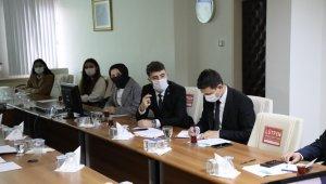 Rektör Uzun, Öğrenci Konseyi üyeleri ile bir araya geldi