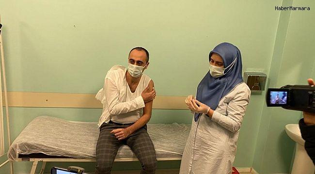 Sağlık Müdürü korona aşısı oldu