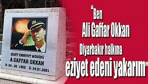 Şehit Ali Gaffar Okkan, şehadetinin 20'nci yıl dönümünde anıldı