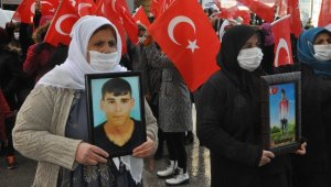 Şırnak anneleri eylemlerinin 20'nci haftasında da HDP'den çocuklarını istedi