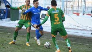Süper Lig: BB Erzurumspor: 1 - Alanyaspor: 1