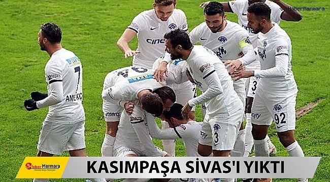 Kasımpaşa: 2 - DG Sivasspor: 0