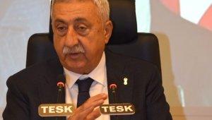 """TESK Genel Başkanı Palandöken: """"Esnafın emekliliği için yeni protokol imzalandı"""""""