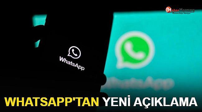 WhatsApp'tan Türkiye Açıklaması