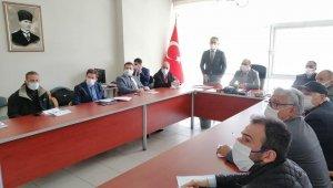 Av komisyonu toplantısı yapıldı