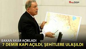 Bakan Akar Gara operasyonunun detaylarını anlattı