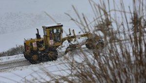 Balıkesir'de 57 kırsal mahalle yolu kapalı