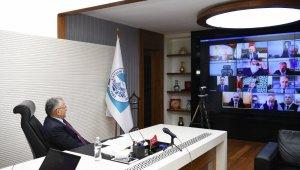 Başkan Büyükkılıç, İl Hıfzıssıhha Kurulu Toplantısı'na katıldı